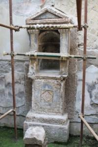 Lararium in Herculaneum