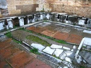 Public Latrine in Ostia