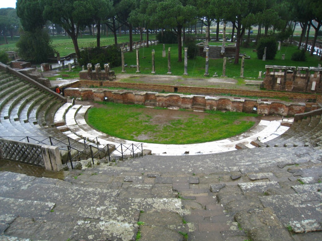 Theater in Ostia