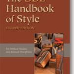 Overpriced SBL Handbook of Style (2nd ed)